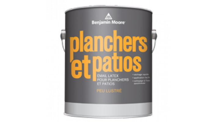 Planchers et patios  Émail Latex  946 ml