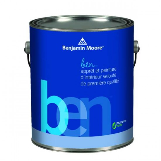 Peinture au Latex d'intérieur ben de Benjamin Moore 3.79L