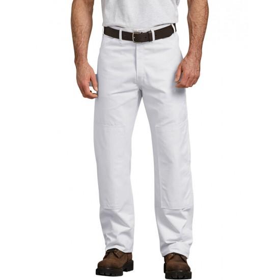 Pantalon de peintre avec empiècements doubles aux genoux pour insérer des genouillières