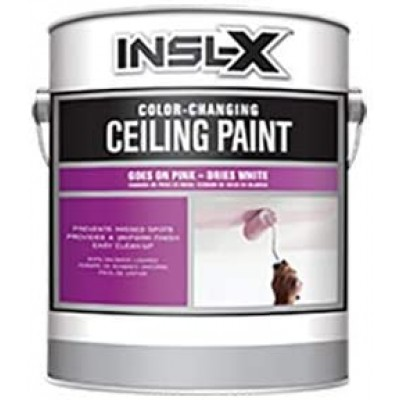 Peinture pour Plafond avec indicateur de changement de couleur
