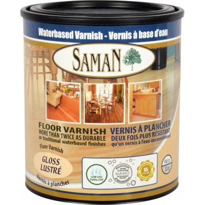 Vernis Saman à base d'eau