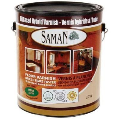 Vernis Saman à base d'huile